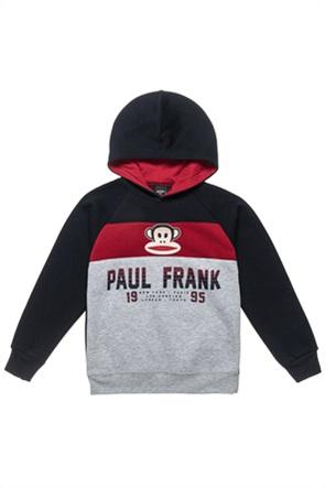 """Αlouette παιδικό φούτερ colourblocked και print """"Paul Frank"""""""