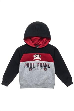"""Αlouette παιδικό φούτερ colourblocked και print """"Paul Frank"""" (18 μηνών-5 ετών)"""