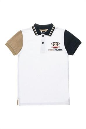 "Alouette παιδική πόλο μπλούζα με contrast μανίκια ""Paul Frank"" (6-12 ετών)"