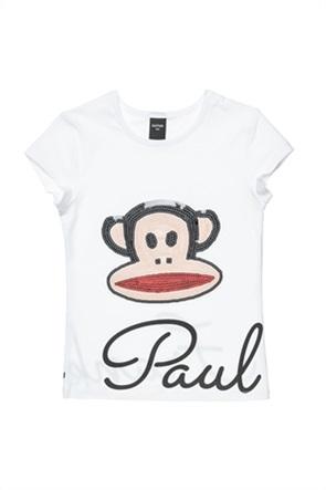 "Alouette παιδικό T-shirt με παγιέτες ""Paul Frank"" (12 μηνών-5 ετών)"