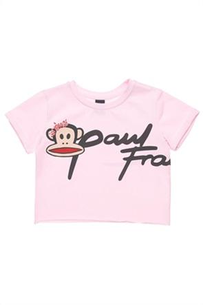 "Alouette παιδικό T-shirt cropped με print ""Paul Frank"" (2-5 ετών)"