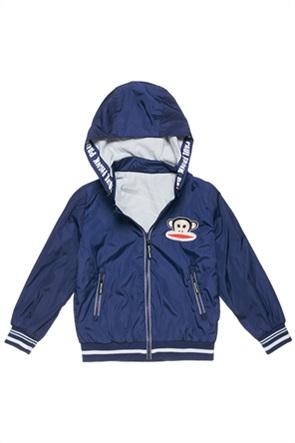 """Alouette παιδικό μπουφάν αδιάβροχο με κέντημα """"Paul Frank"""" (6-14 ετών)"""