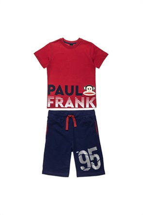 "Alouette παιδικό σετ ρούχων T-shirt με print και βερμούδα ""Paul Frank"" (12 μηνών-5 ετών)"
