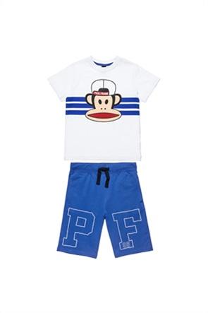 "Alouette παιδικό σετ ρούχων T-shirt με print και βερμούδα με letter print ""Paul Frank"" (12 μηνών-5 ετών)"