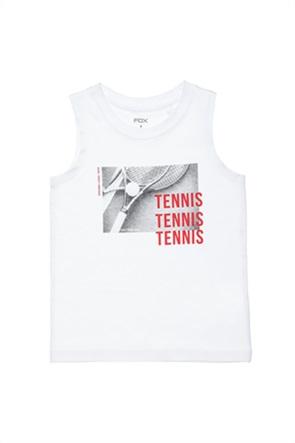 """Alouette παιδική μπλούζα αμάνικη με print """"Tennis"""" (6-16 ετών)"""