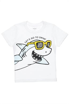 Alouette βρεφικό T-shirt με shark print (12μηνών-3 ετών)