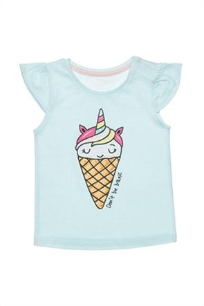 Alouette βρεφική μπλούζα με ice-cream print (12 μηνών-3 ετών)