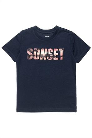 "Alouette παιδικό T-shirt με print ""Sunset"" (6-16 ετών)"