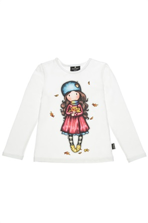 "Alouette παιδική μπλούζα με print ""Santoro"" (6-14 ετών)"