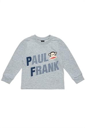 """Alouette παιδική μπλούζα φούτερ με graphic print """"Paul Frank"""" (12 μηνών-5 ετών)"""