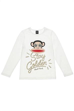 """Alouette παιδική μπλούζα με print """"Paul Frank"""" (6-14ετών)"""