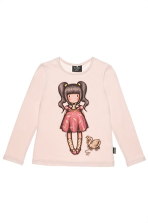 "Alouette παιδική μπλούζα με print ""Santoro"" (6-14ετών)"