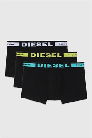 "Diesel ανδρικό σετ εσωρούχων με print στο λάστιχο (3 τεμάχια) ""Kory"""