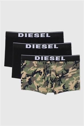 "Diesel ανδρικό σετ εσωρούχων με logo print στο λάστιχο ""Damien"" (3 τεμάχια)"