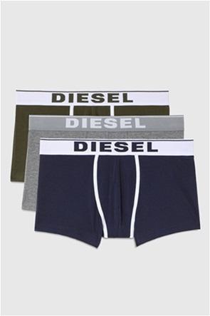 "Diesel ανδρικό σετ εσώρουχα με logo print στο λάστιχο ""Damien"" (3 τεμάχια)"
