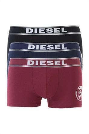 "Diesel ανδρικό σετ εσωρούχων με logo print ""Stretch Cotton"" (3 τεμάχια)"