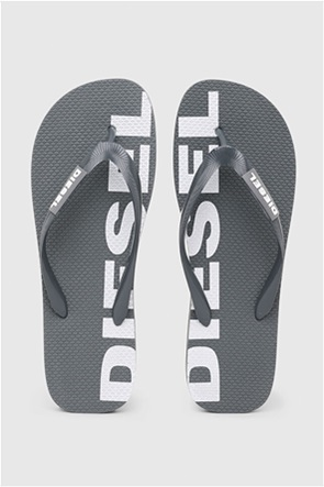 Diesel ανδρικές σαγιονάρες με logo print