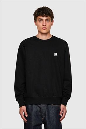 """Diesel ανδρική μπλούζα φούτερ με logo patch """"Girk"""""""