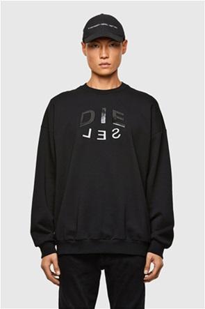 """Diesel ανδρική μπλούζα φούτερ με logo print """"Mart"""""""