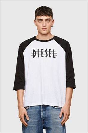 """Diesel ανδρική μπλούζα με logo print """"T-Beisbol"""""""