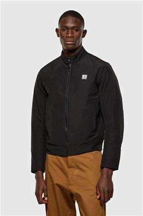 "Diesel ανδρικό biker jacket με logo patch ""J-Halls"""