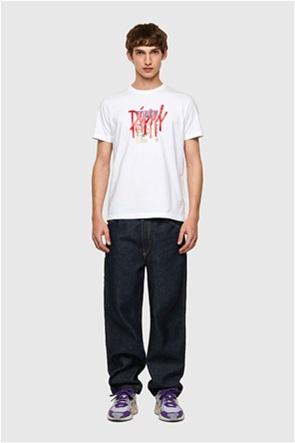 "Diesel ανδρικό T-shirt με graphic print ""T-Diegos-B9"""