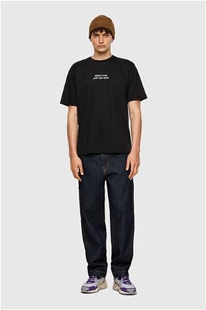 "Diesel ανδρικό T-shirt με graphic print ""T-Tubolar-B3"""