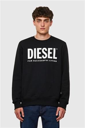 """Diesel ανδρική μπλούζα φούτερ με logo print """"S-Girk"""""""