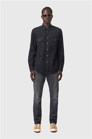 """Diesel ανδρικό τζην πουκάμισο με flap τσέπες """"D-East-P1"""""""