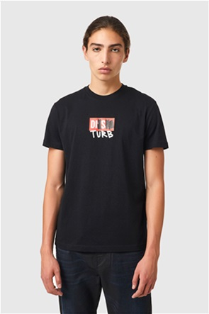 "Diesel ανδρικό T-shirt με graphic print ""T-Diegos-B10''"