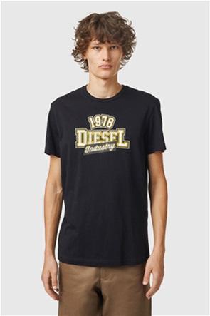 "Diesel ανδρικό T-shirt με graphic print ""T-Diegos-Κ26''"