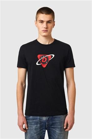 "Diesel ανδρικό T-shirt με space logo print ""T-Diegos-Κ24''"