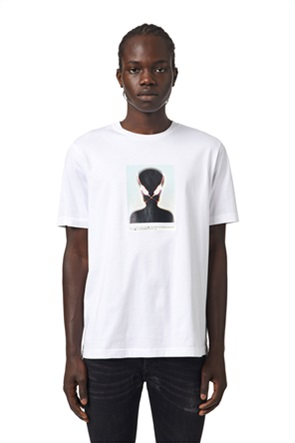 "Diesel ανδρικό T-shirt με alien print ""T-Diegos Slits"""