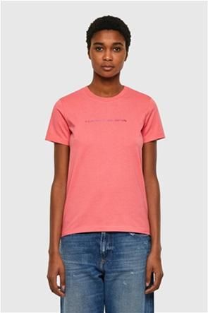 Diesel γυναικείο T-shirt με 3D letter print ''Sily-Copy''