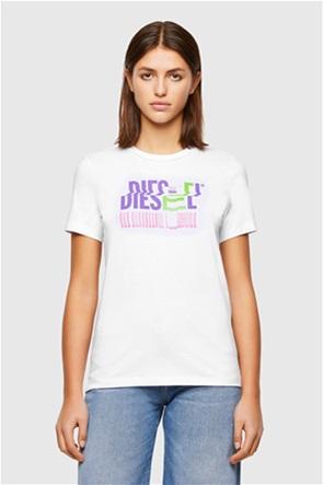 "Diesel γυναικείο T-shirt με print ""Sily-K6"""