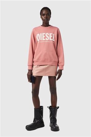 Diesel γυναικεία φούτερ μπλούζα με logo print ''F-Angs''