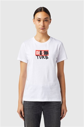 Diesel γυναικείο T-shirt με graphic print ''T-Sily-B6''