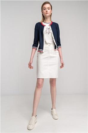 Alexander & Jacob γυναικεία mini φούστα denim