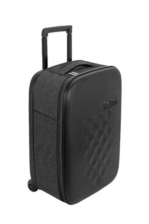 "Rollink βαλίτσα καμπίνας ""Foldable Black"" 55 x 40 x 20 cm 2kg Flex 21"
