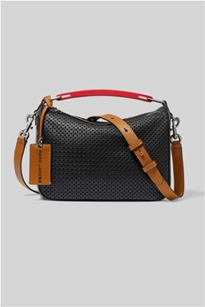 "Marc Jacobs γυναικεία δερμάτινη τσάντα χειρός με διάτρητο σχέδιο ""The Softbox"""