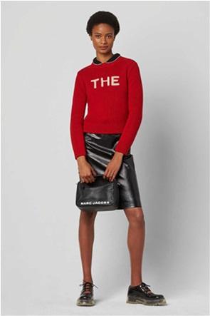 Marc Jacobs γυναικεία τσάντα χειρός με logo print ''The Softbox''