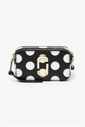 "Marc Jacobs γυναικείο δερμάτινο mini bag πουά ""The Dot Chain Snapshot"""