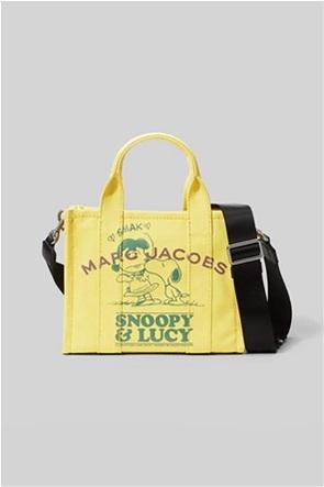 "Marc Jacobs γυναικεία τσάντα χειρός με graphic print ""Peanuts χ The Snoopy Mini Tote"""