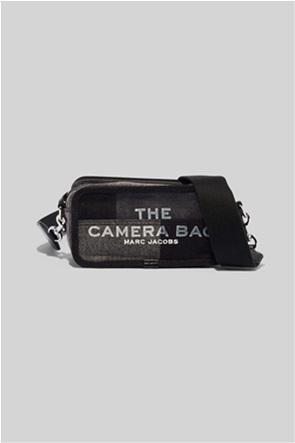 "Marc Jacobs γυναικεία denim τσάντα crossbody με logo print ""The Camera Bag"""