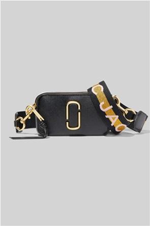 "Marc Jacobs γυναικείο δερμάτινο mini bag colourblocked ""The Logo Strap Snapshot"""
