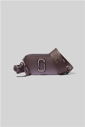 "Marc Jacobs γυναικείο δερμάτινο mini bag  με μεταλλικό λογότυπο ""Snapshot Dtm"""