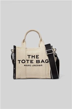 "Marc Jacobs γυναικεία τσάντα χειρός με logo print ""The Jacquard Mini Tote"""