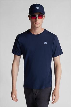 North Sails ανδρικό T-shirt με logo patch