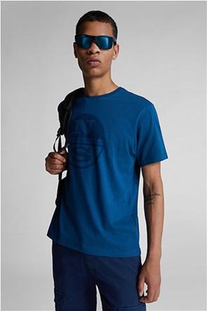 North Sails ανδρικό T-shirt με maxi logo print