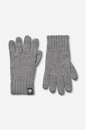North Sails ανδρικά γάντια ribbed  με logo patch
